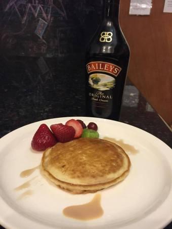 Etsu's Baileys pancake
